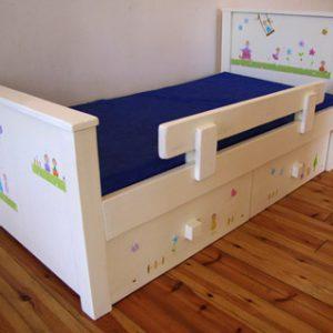 מיטה מעוצבת לחדר ילדים. מיטה לילדים. 7