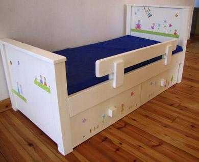 מיטה מעוצבת לחדר ילדים. מיטה לילדים. 4