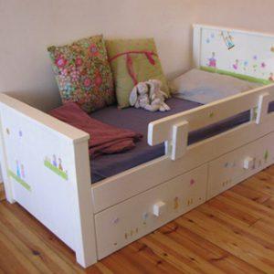 מיטה מעוצבת לחדר ילדים. מיטה לילדים. 6
