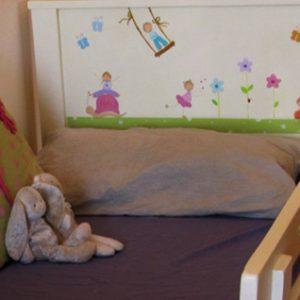 מיטה מעוצבת לחדר ילדים. מיטה לילדים. 5