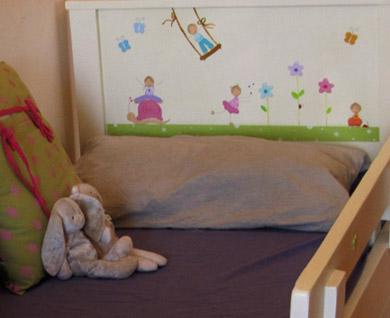 מיטה מעוצבת לחדר ילדים. מיטה לילדים. 2