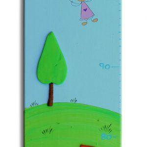 מד גובה מעוצב  -טרקטורים ועצי הדר במושב 3
