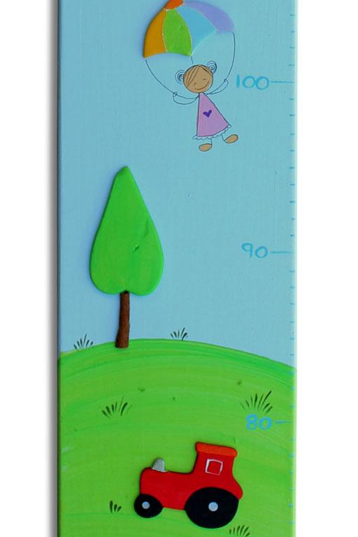 מד גובה מעוצב  -טרקטורים ועצי הדר במושב 1