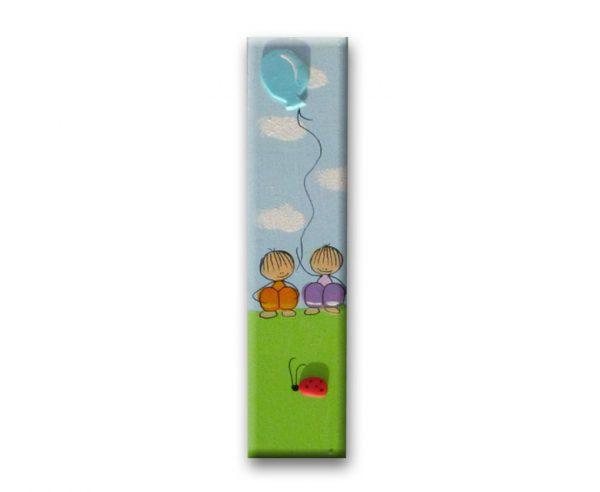 ידית לארון ילדים - ילדים עם בלון 1