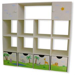 כוורת מעץ לחדר ילדים - דגם: תמר 3
