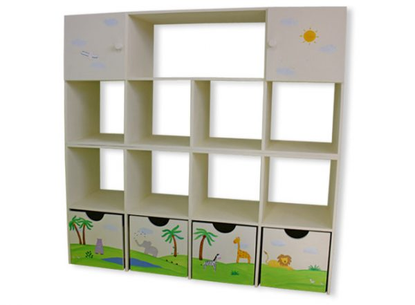 כוורת מעץ לחדר ילדים - דגם: תמר 2