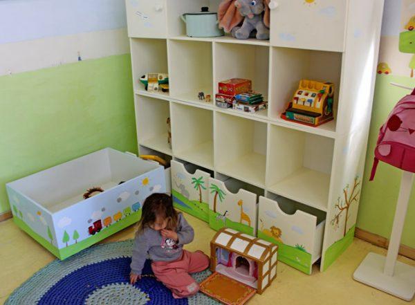 כוורת מעץ לחדר ילדים - דגם: תמר 1