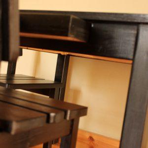 שולחן וכסאות לילדים - צבע שחור 5