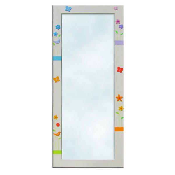 מראה לחדר ילדים – פרפרים צבעוניים 1