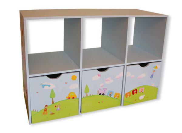 כוורת למשחקים בחדר ילדים - דגם: תומר 1