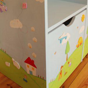 כוורת למשחקים בחדר ילדים - דגם: תומר 5