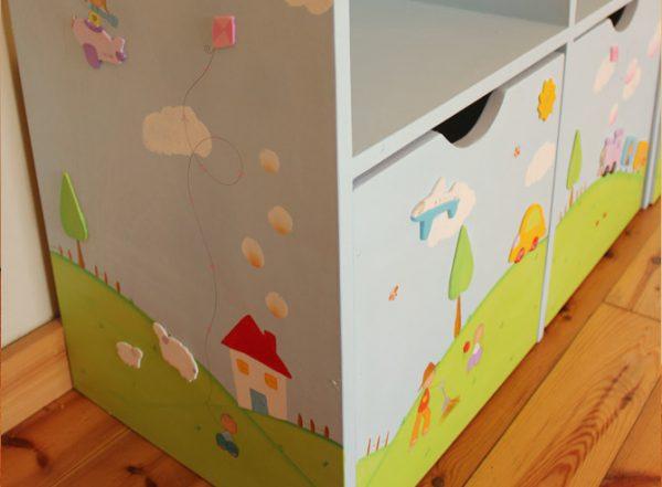 כוורת למשחקים בחדר ילדים - דגם: תומר 2