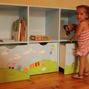 כוורת למשחקים בחדר ילדים - דגם: תומר 6