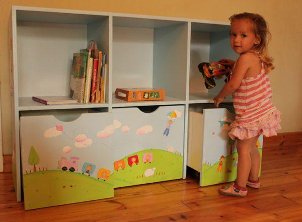 כוורת למשחקים בחדר ילדים - דגם: תומר 3