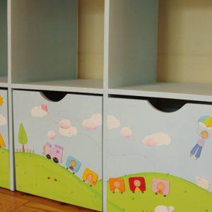 כוורת למשחקים בחדר ילדים - דגם: תומר 7
