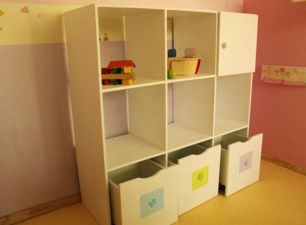 כוורת מעוצבת לצעצועים - דגם: ליאור 4
