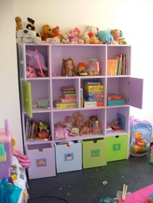 פתרונות אחסון לחדר ילדים
