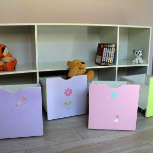 כוורת אחסון בחדר ילדים - דגם: יהלי 4