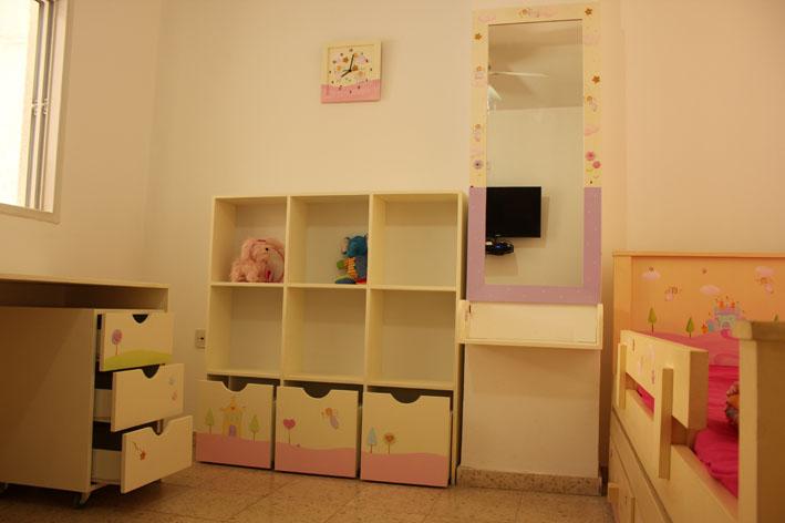 חדר ילדות בעיצוב נסיכות קסומות
