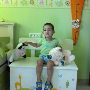 חדר ילדים בעיצוב חיות מתוקות