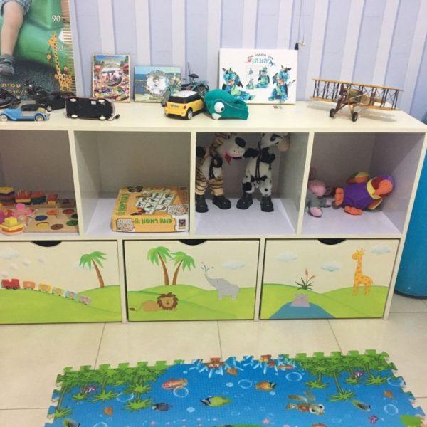 כוורת אחסון בחדר ילדים - דגם: אור