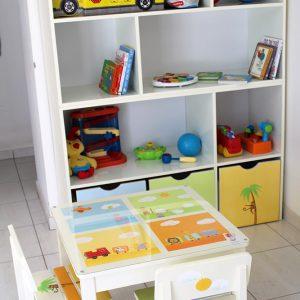 כוורת משחקים לחדר ילדים - דגם : רותם
