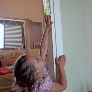 מזוזה לחדר ילדים – פסטורליה נעימה