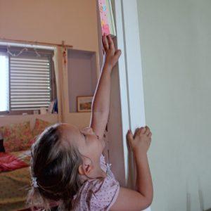 מזוזה לחדר ילדות בעיצוב פיה קסומה