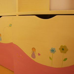 כוורת לחדר ילדים - דגם מעיין