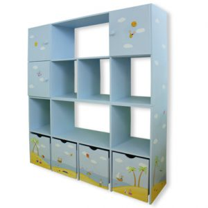 כוורת מעוצבת לחדר ילדים - דגם : שירה
