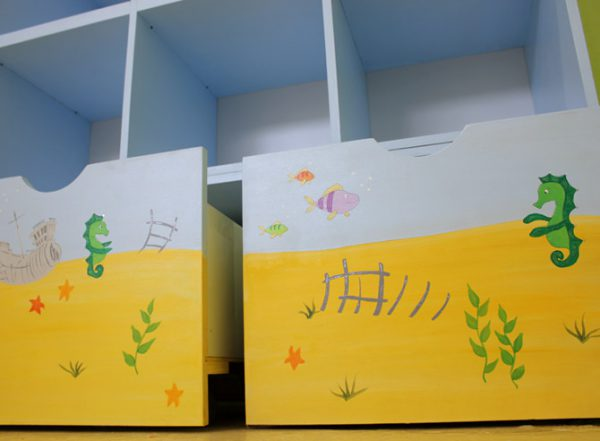 כוורת משחקים לחדר ילדים - דגם : הודיה