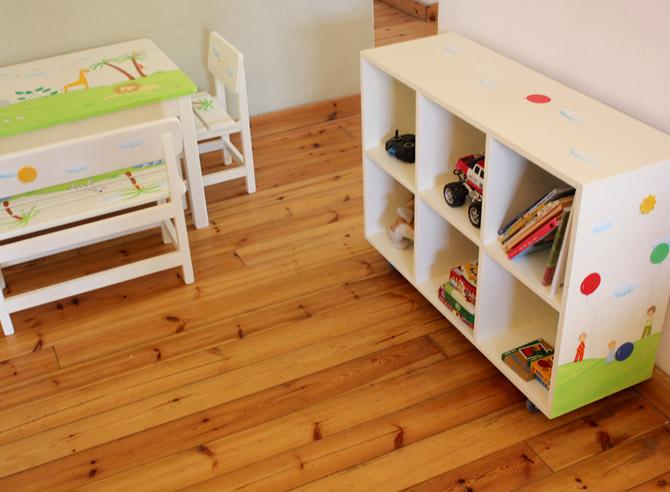 כוורת מעוצבת לחדרי ילדים דגם: הודיה