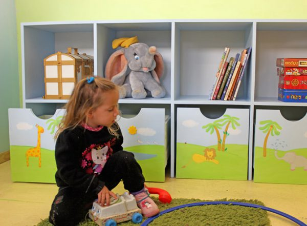 כוורת אחסון בחדר ילדים - דגם: בארי