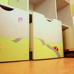 כוורת מעוצבת לילדים - דגם: טלטול