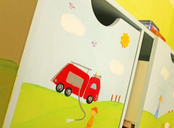 כוורת לחדר ילדים - דגם: ניר