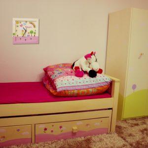 שעון לחדר ילדות - ילדות מאושרות