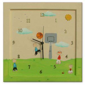 שעון מעוצב לילדים - ילדים ספורטיביים