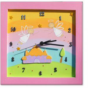 שעון לחדר ילדות - פיות קסומות וארמון