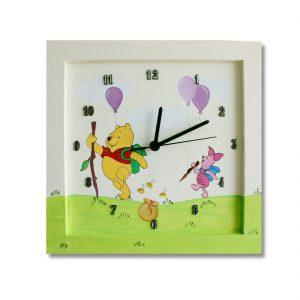 שעון לחדר ילדים פו הדב וחברים