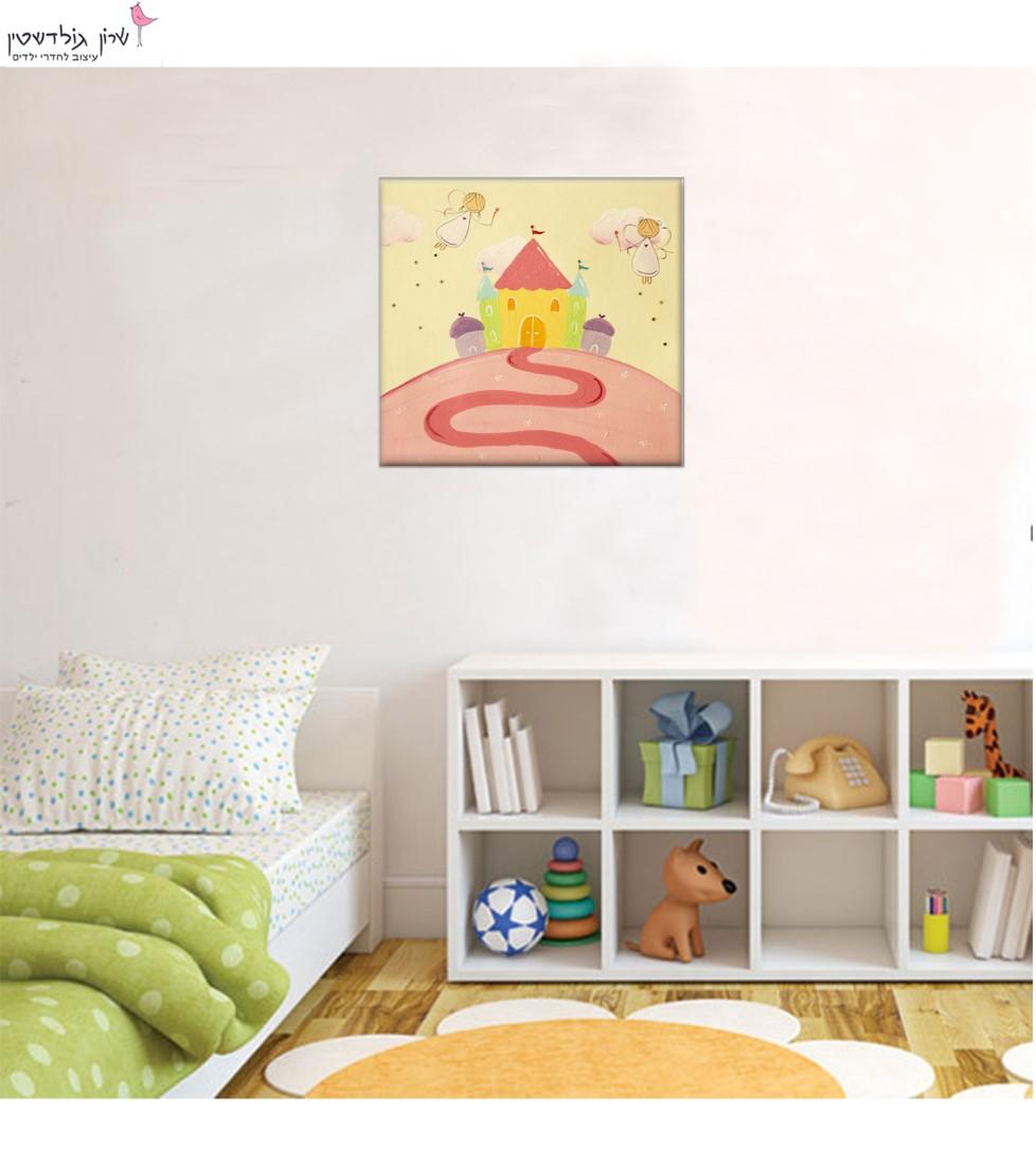תמונה לחדר ילדות – פיות מעופפות