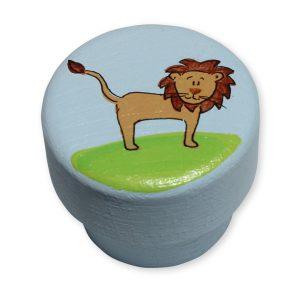 ידית לשידת החתלה - ידית מעוצבת - אריה מלך החיות