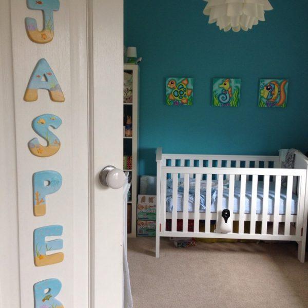 חדר ילדים בעיצוב אוקיינוס