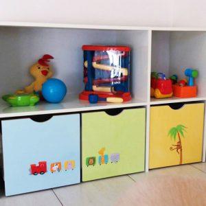 כוורת אחסון בחדר ילדים - דגם: איתן
