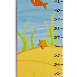 מד גובה לילדים – דגים באוקיינוס העצום