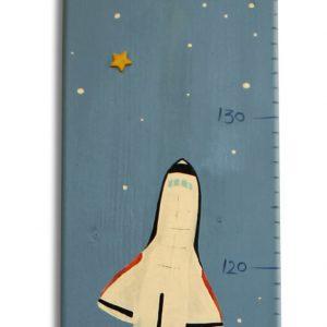 מד גובה מעוצב – חלליות וכוכבי לכת