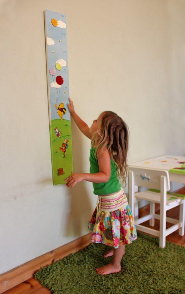 מד גובה לחדר ילדים – פו הדב וחברים