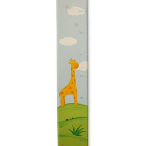 מד גובה מעוצב –חיות הג'ונגל ג'ירף ופיל