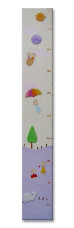 מדי גובה מעוצבים לחדר ילדים