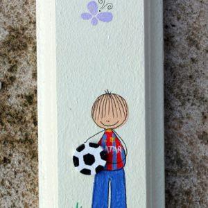 מזוזה בעיצוב כדורגל-ברצלונה-מסי