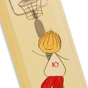 מזוזה מעוצבת - ילד ספורטיבי כדורסל